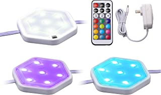 NEGRO+DECKER Kit de luz, LEDUC-PUCK-3RGB