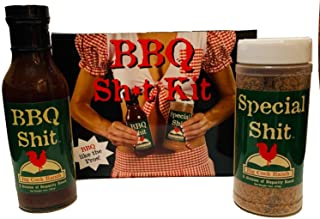 Special Shit and BBQ Shit Kit | Funny BBQ Sauce Gift Set | Best BBQ Accessory | Made in the USA | Makes a Great Gag Gift for Men | Season Your Steak, Chicken, and Ribs Perfectly | Great for a Laugh