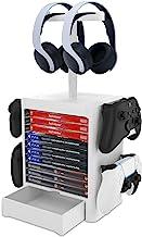 Organizador de jogos e fones de ouvido da NexiGo (até 10 jogos) para PS5 PS4 Playstation / Xbox Series S & X/Switch Acessó...