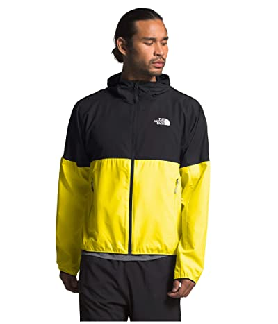 The North Face Flyweight Hoodie (TNF Lemon/TNF Black) Men