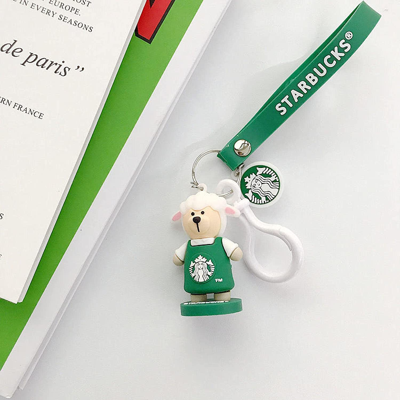 SZLGPJ Bear Zodiac Character Doll Car Couple Industry No. 1 supreme Bag Keychain Pendan