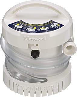 Attwood 4140-4 WaterBuster Portable Pump, White