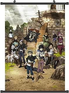 FidgetGear Black Clover Anime Poster HD Canvas Print Wall Scroll Home Decor Cosplay 20x30cm/8 x12 inches