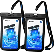 Mpow IPX8 Waterproof Case for iPhone Samsung and All Devices Up to 6 Inches …