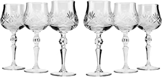 bohemia crystal sherry glasses