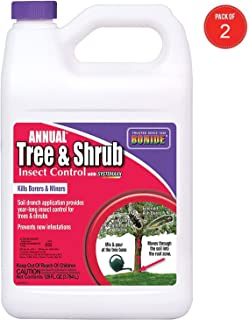 Bonide 611 Annual Tree and Shrub Insect Control, 128 Fl oz(1 Gallon) (Pack of 2)