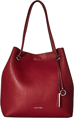 Gabrianna Unlined Solid PVC Tote