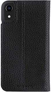 Case Mate Barely There Wallet Folio Back Case for Apple iPhone XR - Black