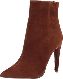 Steve Madden Women's HALENA Fashion Boot, Chestnut Suede, 9
