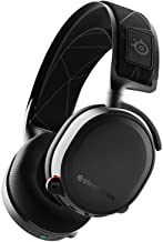 SteelSeries Arctis 7, Wireless Gaming Headset, DTS Headphone: X v2.0 Surround for PC and PlayStation 4, Black