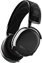 Steelseries Arctis 7 Auriculares De Juego, Inalámbricos Sin Pérdidas, Dts Headphone: X V2.0 Surround Para Pc Y PlayStation 4, Negro