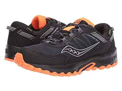 Saucony Versafoam Excursion TR13 GTX (Black/Orange) Men
