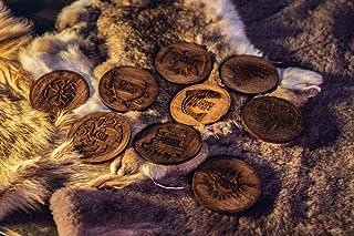 Pack de Posavasos Juego de tronos: Casa Stark, Casa Targaryen, Casa Lannister, Casa Baratheon, Casa Greyjoy, Casa Tully, C...
