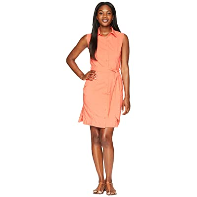 Jack Wolfskin Sonora Dress (Hot Coral) Women