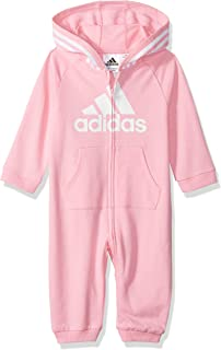 adidas Baby Girls and Baby Boys Coverall