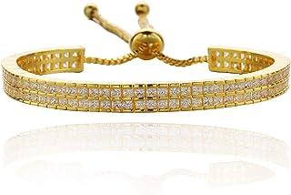 Classic women's accessories gold plated retractable Bracelet