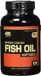 Optimum Nutrition Fish Oil Softgels, 100 Softgel