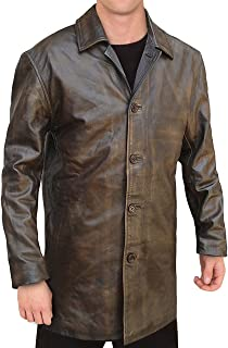Best dean winchester brown leather jacket Reviews