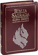 Bíblia Sagrada. Letra Grande, Concordância, Dicionário e Harpa Cristã
