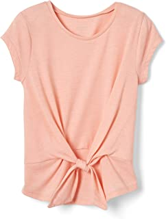 French Toast girls Short Sleeve Tie Front Top Shirt Shirt (pack of 1)