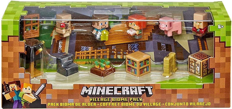 Minecraft Village Biome Figures Pack