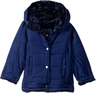 DKNY girls Fashion Outerwear Jacket (More Styles Available) Down Alternative Coat