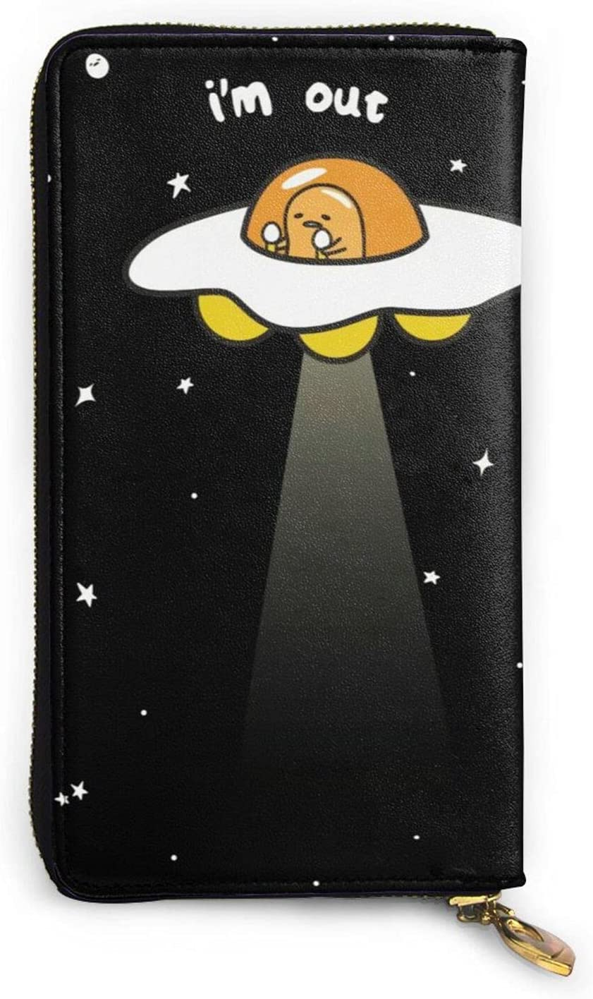 Bibbs Gudetama Leather Coin Purses Wallet 2021 model Popular Special price for a limited time Cr Zip
