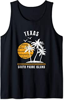 South Padre Island Texas TX Vacation Gifts Tank Top
