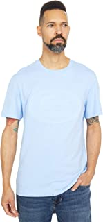 Men's Short Sleeve Tonal Embroidered Large Croc Graphic T-Shirt