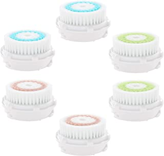 Compatible with Facial Cleansing Brush Head Replacements, Facial Brush, Face Brushes Heads as Cleaning Tool Replacement fo...