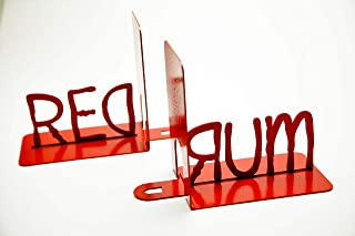 Red Rum Bookends