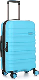 Antler Juno 2 4W Cabin Roller Carry-On Hardside, Turquoise, 56cm