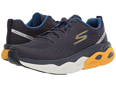 SKECHERS Max Cushion 54440 (Navy/Yellow) Men