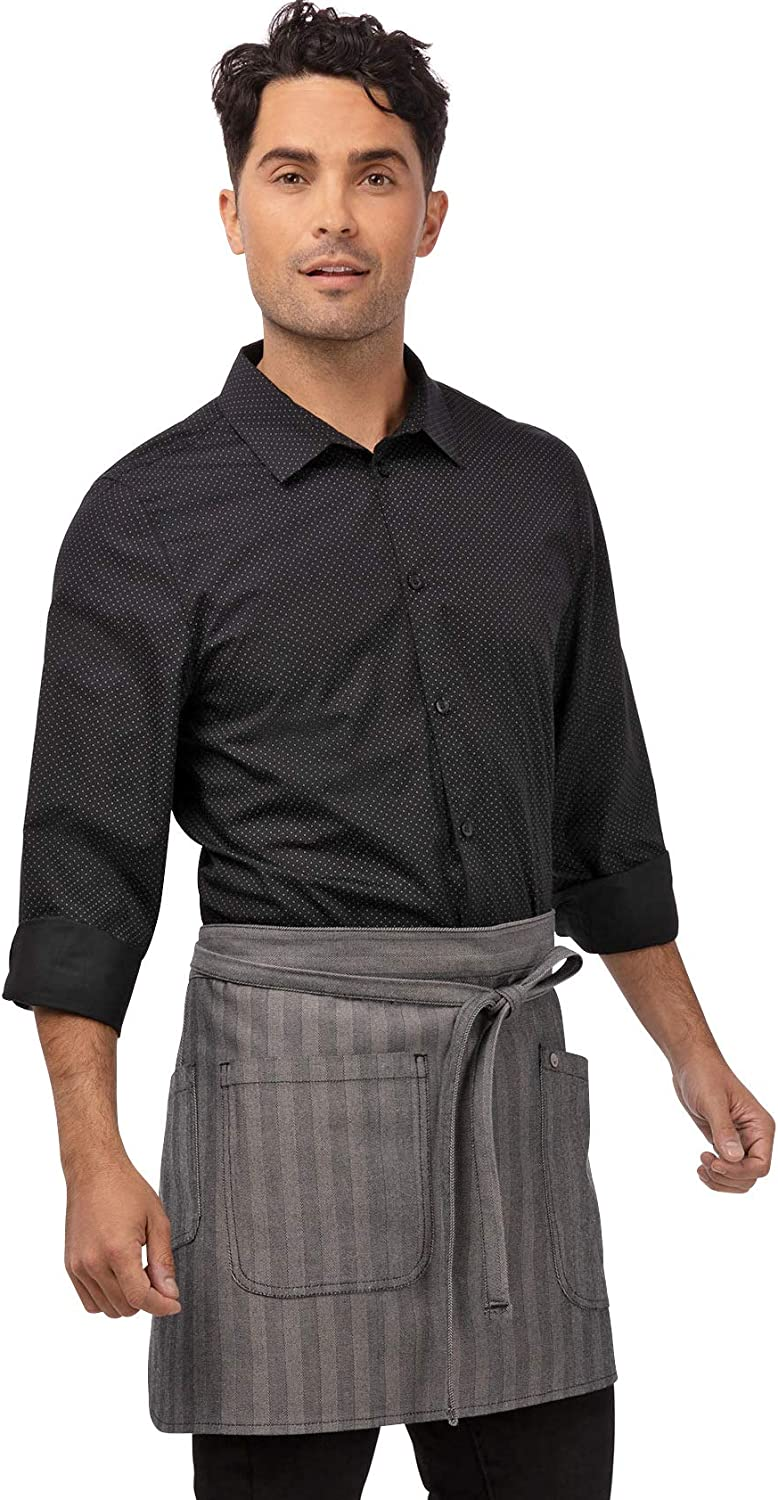 Chef Works mens Today's only Seattle Apron discount Half Bistro