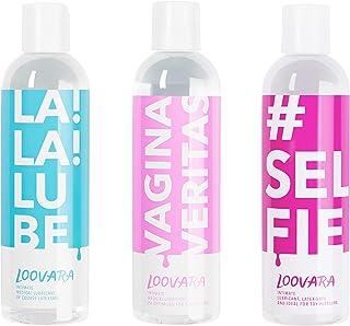 Loovara Värdepaket La Veritas of Smörjmedel – ett billigt 3-delat set – närande gel i ett paket | närande och naturliga in...