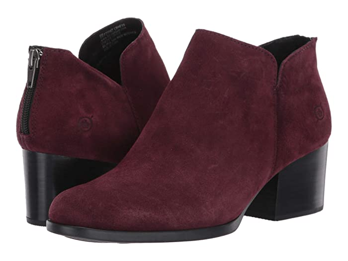 Born  Aare (Burgundy Suede) Womens  Boots