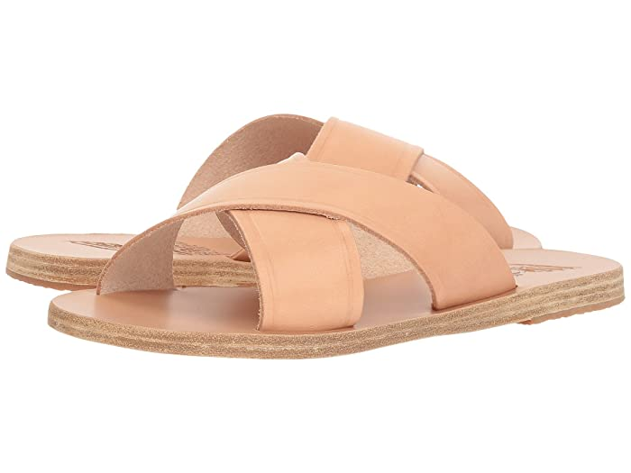Ancient Greek Sandals  Thais (Natural Vachetta) Womens Sandals
