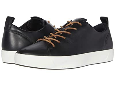 ECCO Soft 8 Dritantm Luxe (Black) Men