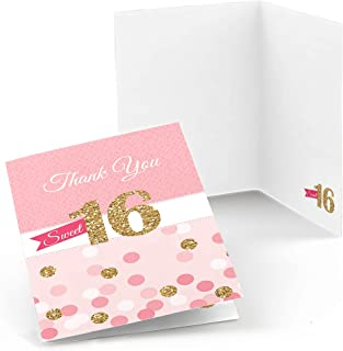 Best sweet 16 thank you notes Reviews