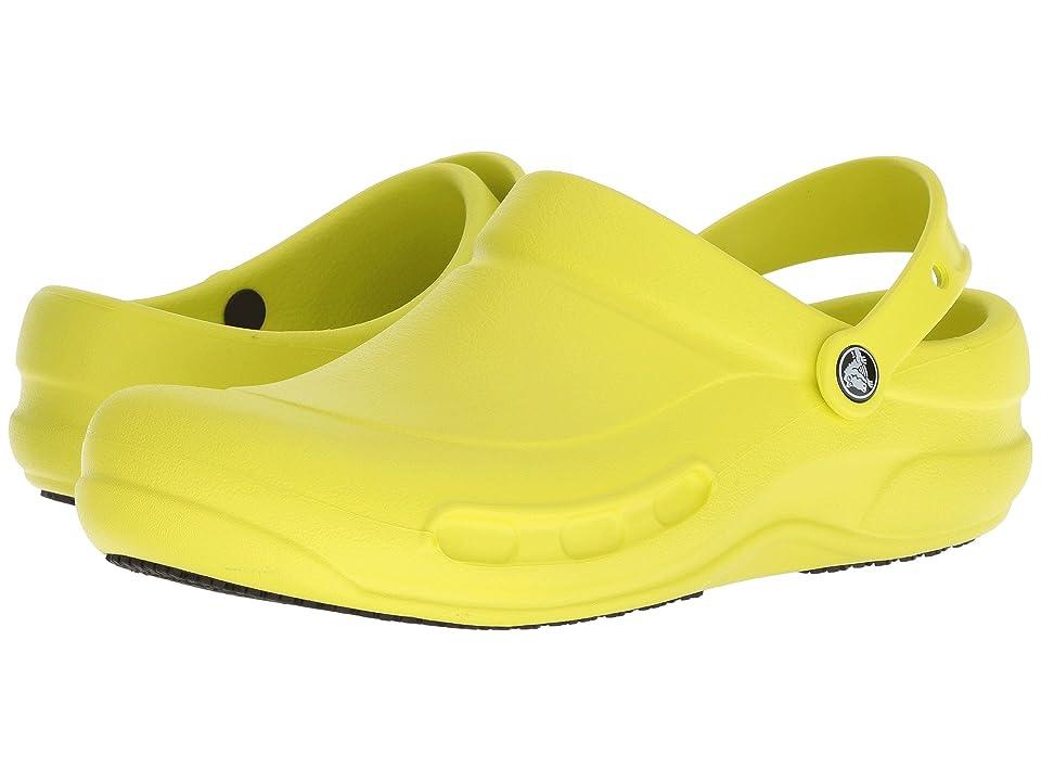 Crocs Bistro (Unisex) (Tennis Ball Green) Clog Shoes