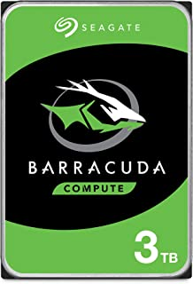Seagate ST3000DMB08 Internal Hard Drive BarraCuda 3TB, SATA 6Gb/s, 64MB Cache, 3.5""