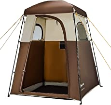 KingCamp Oversize Extra Wide Privacy Shelter Tent, Easy Set Up Portable Outdoor Dressing Changing Room