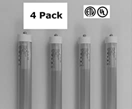 4 Pack of 8 Foot, LED Replacement Bulbs for Fluorescent Fixtures - neiLite Brand
