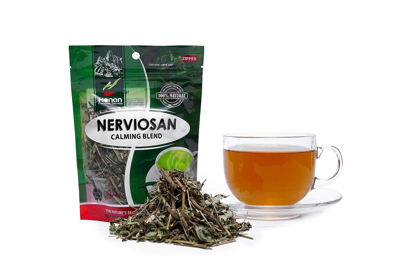 Hanan Peruvian Secrets Nerviosan Department store Herbal Tea 100% Natural Calmi gift