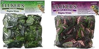 Fluker's Repta-Vines Bundle, Pothos and Purple Coleus, for Reptile and Amphibian Terrariums