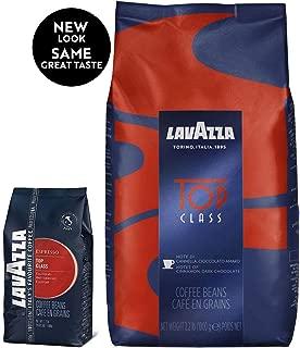 Lavazza Top Class Whole Bean Coffee Blend, Medium Espresso Roast Bag, 2.2 Pound (Pack of 1)
