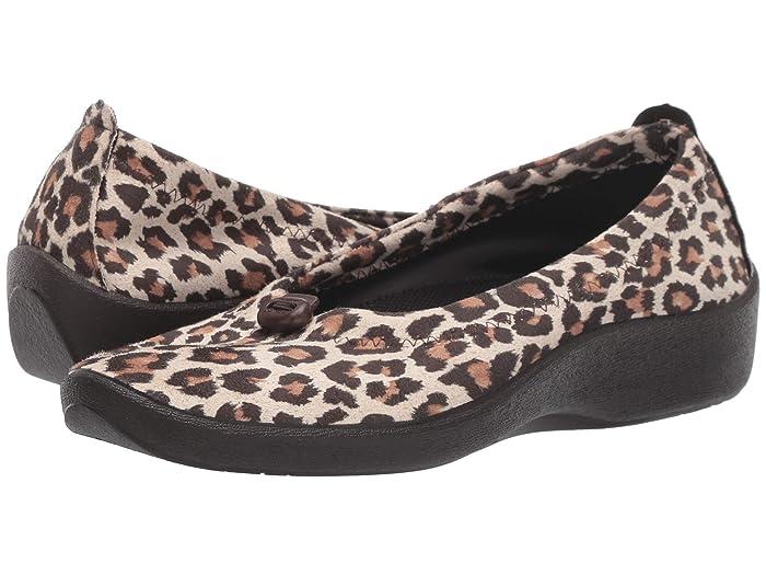 Arcopedico  L14 (Leopard Print) Womens Flat Shoes