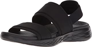 Womens/Ladies On-The-Go 600 Foxy Leather Sandal