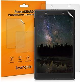 kwmobile 2x 対応: Lenovo Tab 4 8 Plus フィルム - フル スクリーン タブレット 保護フィルム マット 反射防止