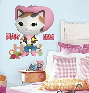 RoomMates RMK3117GM Sheriff Callie's Wild West Peel and Stick Giant Wall Decals, 22